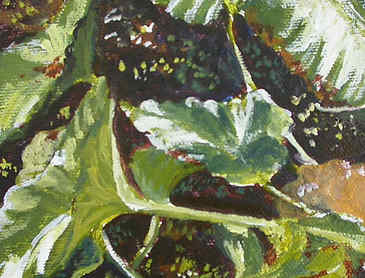 "Field Study #5, 2007, 5"" x 5"", acrylic on canvas"