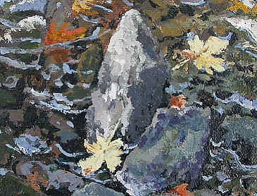 "Field Study #6, 2007, 5"" x 5"", acrylic on canvas"